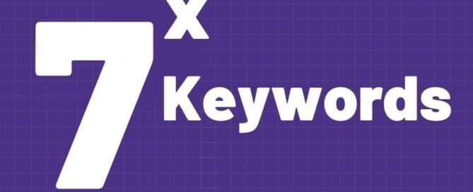 7 Types of keywords