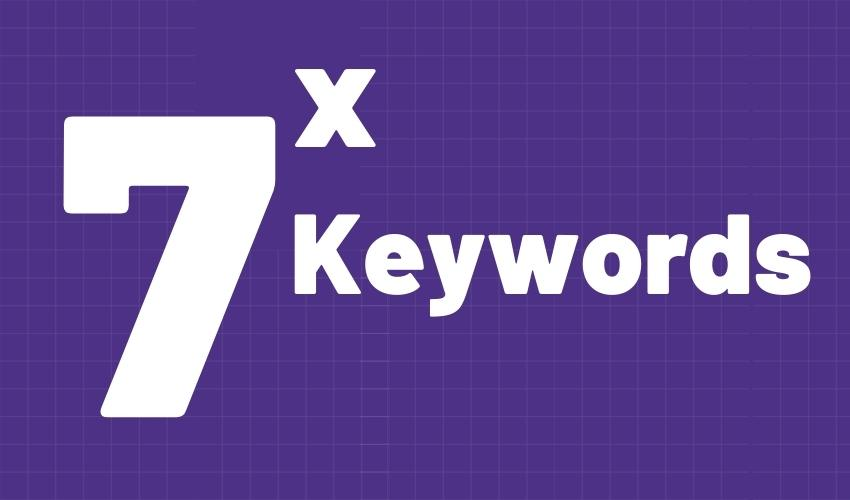 Post: 7 Types of keywords that will increase your search traffic