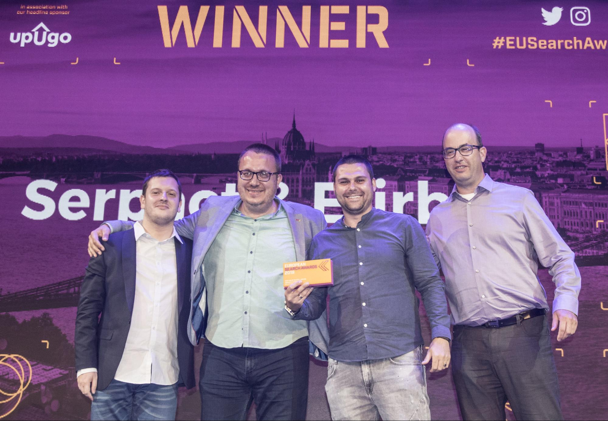 European Search Award Winners 2019