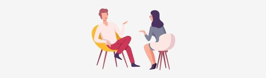 Give an interview
