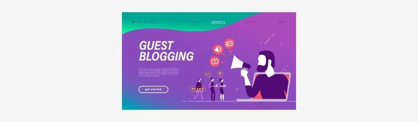 Guest blog writing link building