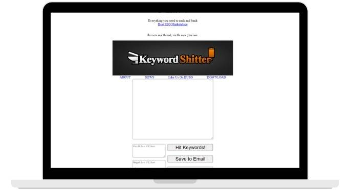 Keyword Shitter Free Keyword Research Tool Online