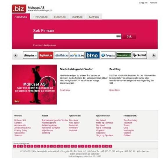 Mediahuset Norge NEW SEO Friendly Website